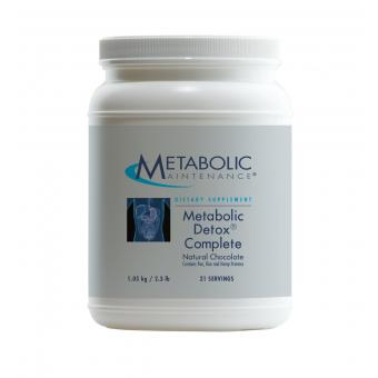 Metabolic Detox® Complete - Natural Chocolate
