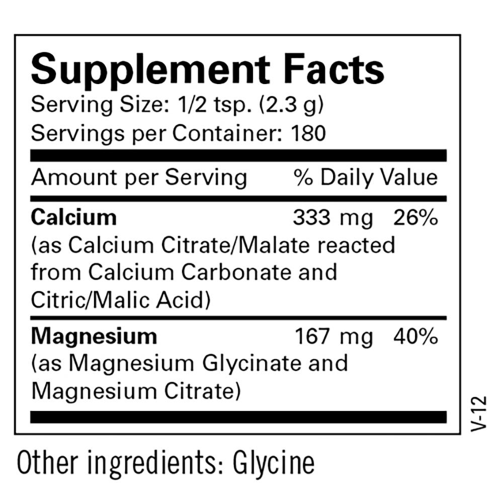 Cal/Mag Powder | Metabolic Maintenance